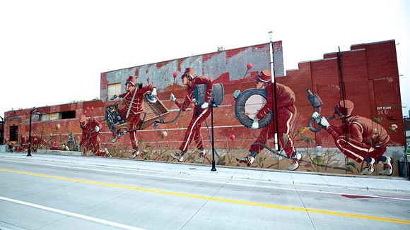 Eastern Market Mural by Pat Perry. - DANIEL ISLEY