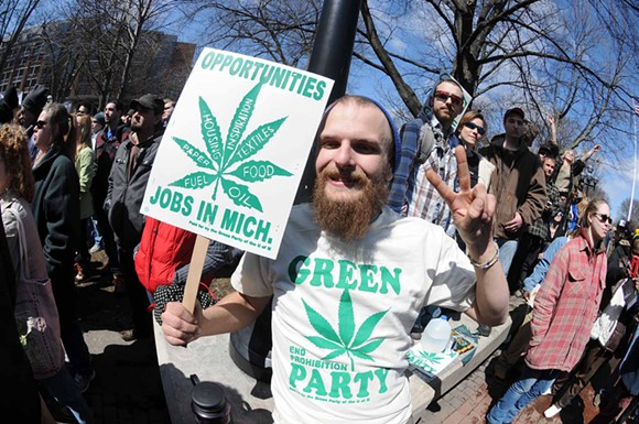 "Hash Bash starts at ""high noon"" on Saturday, April 1. - PHOTO BY MISS SHELA"