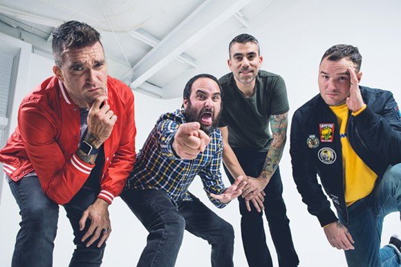 New Found Glory will perform two consecutive dates at the Magic Stick. Courtesy photo.