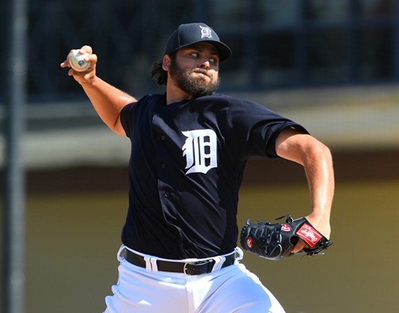 Michael Fulmer - MARK CUNNINGHAM/TIGERS