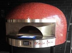 Press Room's pizza oven. - INSTAGRAM