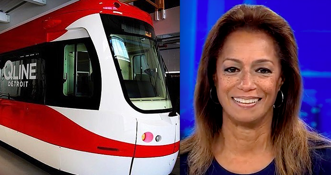 Carmen Harlan will voice on-board announcements for the QLine. - INSTAGRAM / SCREENSHOT