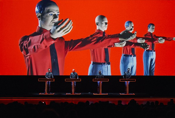 OUR FATHERS, KRAFTWERK, PERFORMING LIVE. COURTESY PHOTO.