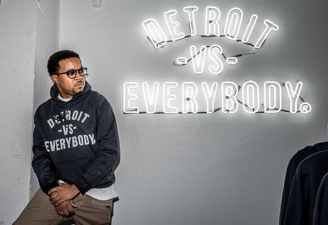 Tommey Walker of Detroit vs. Everybody - MARC NADER