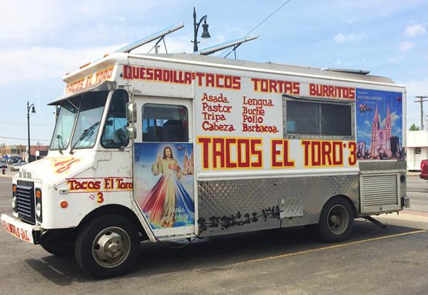 Tacos El Toro 3. - TOM PERKINS