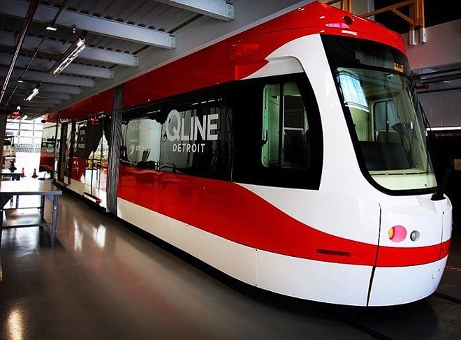The QLINE streetcar - VIA INSTAGRAM USER @NEWORDERCOFFEE