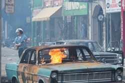 Still from the upcoming Detroit, the upcoming dramatization of the Motor City's infamous 1967 summer of civil unrest. - ANNAPURNA PICTURES