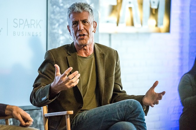 Anthony Bourdain. - SHUTTERSTOCK