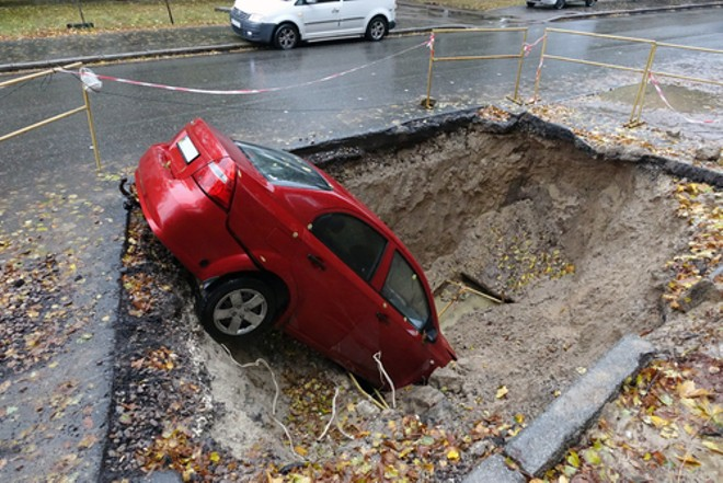 No, this isn't a Michigan pothole. But with a little work and application, the Michigan legislature is on its way to making this a reality. - PHOTO COURTESY SHUTTERSTOCK
