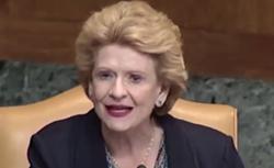 Senator Debbie Stabenow.