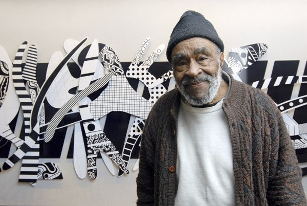Detroit artist Charles McGee. - RAY MANNING