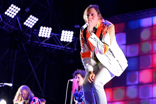 Win Butler of Arcade Fire. - SHUTTERSTOCK.