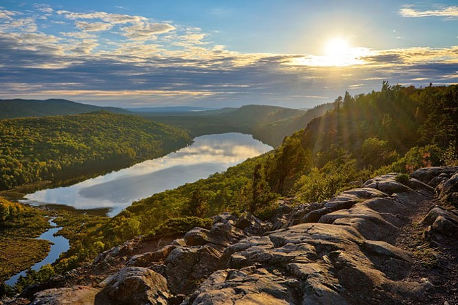 Porcupine Mountains Wilderness State Park. - SHUTTERSTOCK