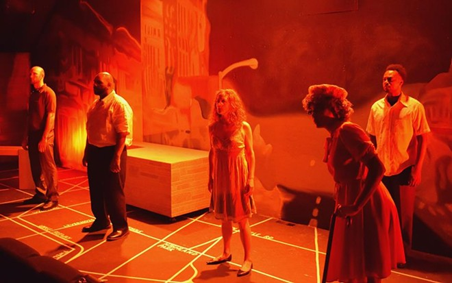 A performance of 'Dream Deferred: Detroit, 1967' - PHOTO BY MEGAN BUCKLEY BALL COURTESY MATRIX THEATER