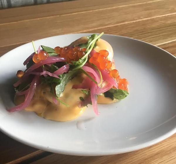 Lox Benedict at Livernois Tap. - COURTESY PHOTO
