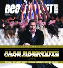 Alan Markowitz on the cover of Real Detroit Weekly in 2010. - REAL DETROIT WEEKLY