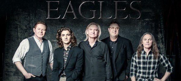 The newly formed Eagles, featuring Vince Gill and Deacon Frey. - FACEBOOK