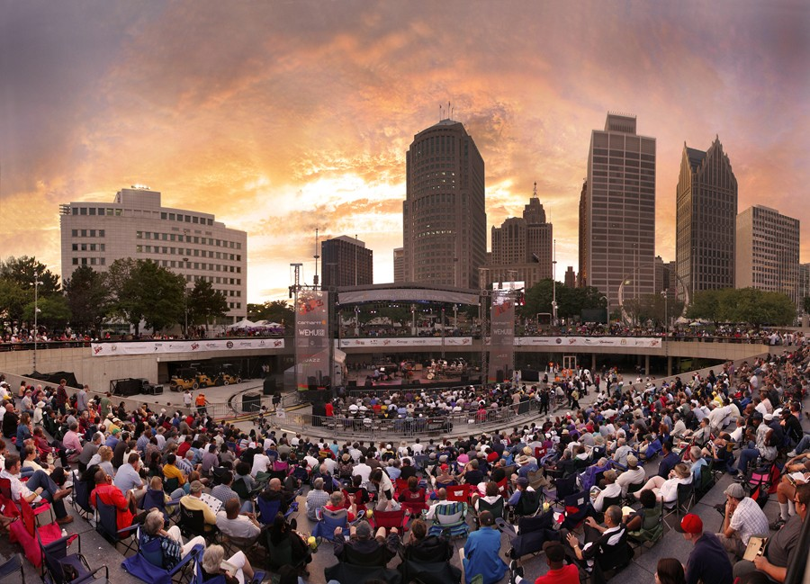Detroit Jazz Festival. - LEN KATZ