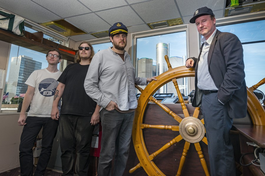 Protomartyr, from left: Alex Leonard, Scott Davidson, Greg Ahee, and Joe Casey. Doug coombe - DOUG COOMBE