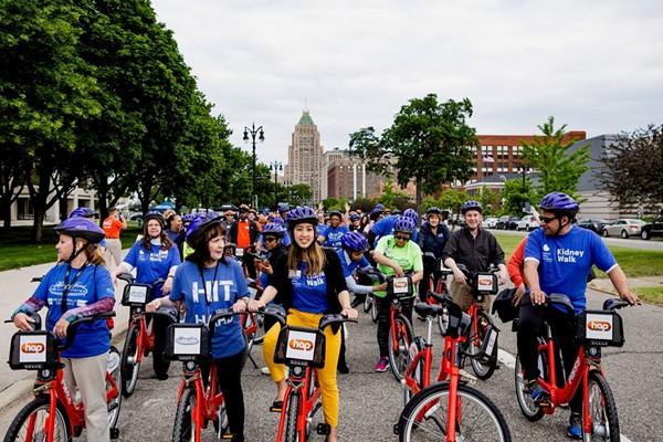 Bikers in Detroit. - FACEBOOK