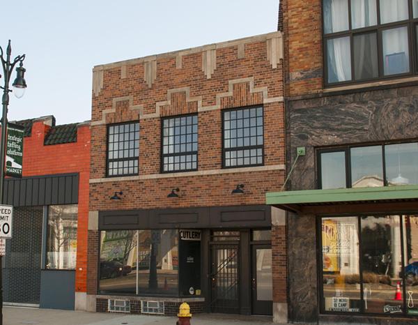 Gather's Gratiot Avenue storefront. - TOM PERKINS