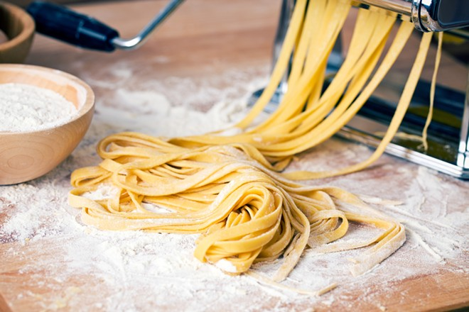 The kind of pasta we imagine is being made at SheWolf. - SHUTTERSTOCK