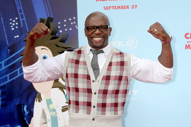 Terry Crews. - SHUTTERSTOCK
