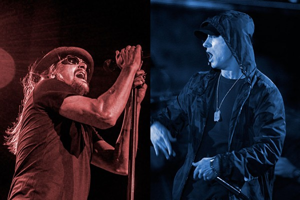 KID ROCK: LARRY PHILPOT, EMINEM: DOD NEWS FEATURES, WIKIMEDIA COMMONS