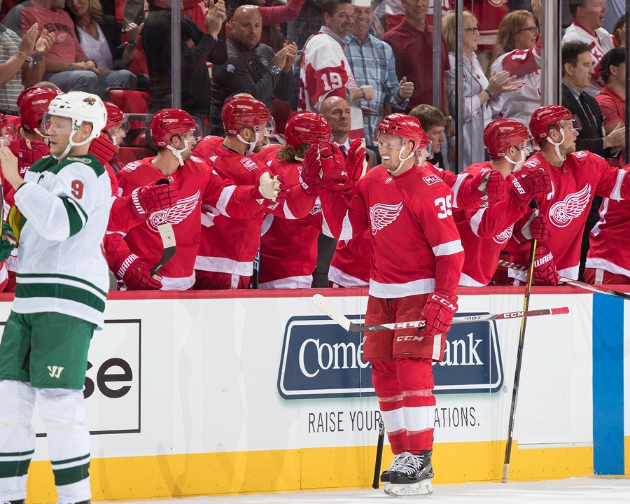Anthony Mantha. - COURTESY OF THE DETROIT RED WINGS
