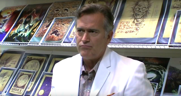 Bruce Campbell. - SCREENSHOT