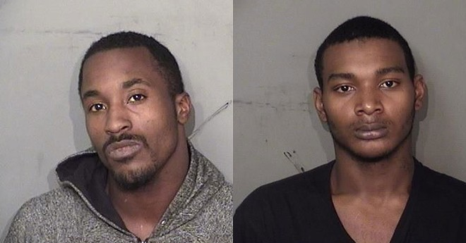 Aaron Rashard Stewart, 22, and Quentin Davon Flemons, 19, are believed to be behind the recent abductions of two cyclists in their twenties near the Detroit-Hamtramck border. - WAYNE COUNTY SHERIFF'S OFFICE