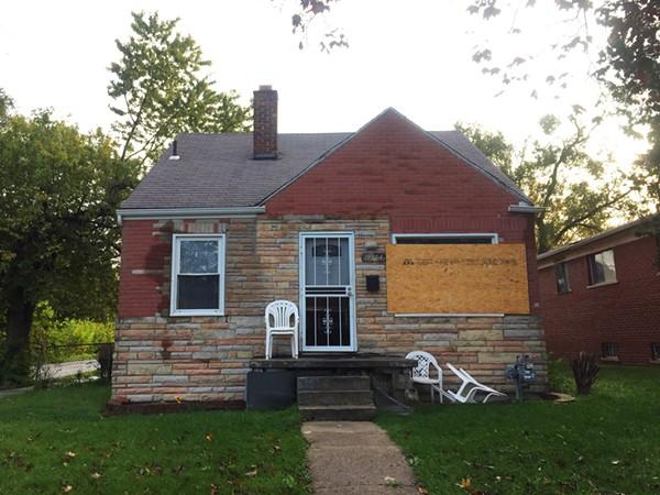 The Dickerson family home in Detroit's Conant Gardens neighborhood. - VIOLET IKONOMOVA