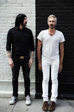 Jesse F. Keeler and Sebastien Grainger of the band Death From Above. - LINDSEY BYRNES