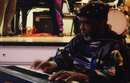 Sun Ra at New England Conservatory, February 27, 1992. - PHOTO BY PANDELIS KARAYORGIS, USED COURTESY CREATIVE COMMONS