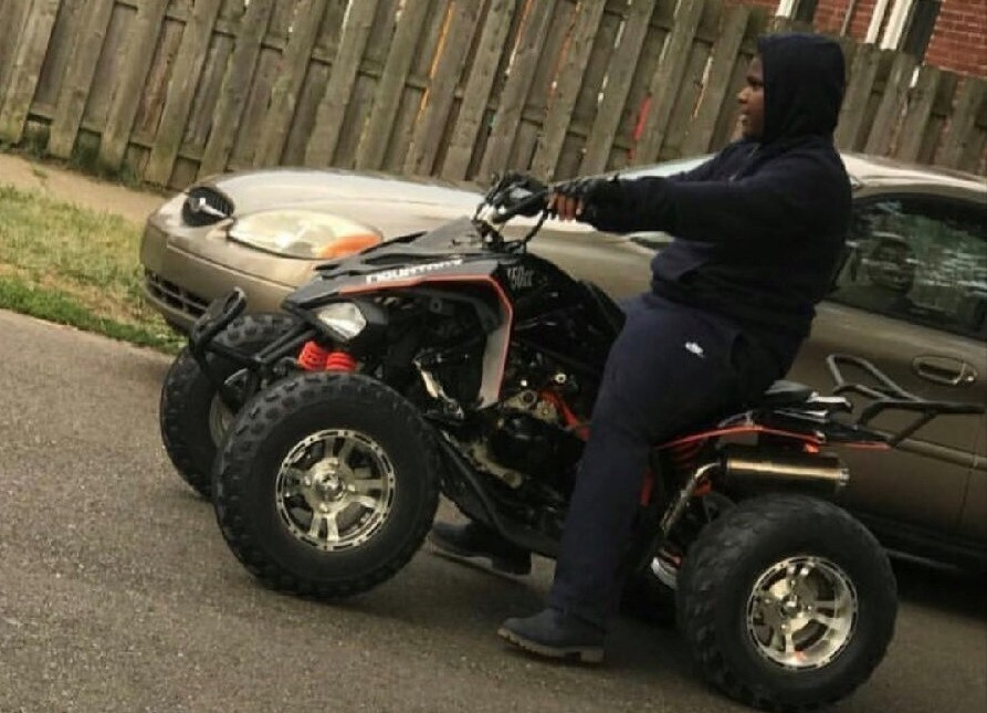 Teenager Damon Grimes was killed riding his ATV during a police chase in August. - FAMILY PHOTO