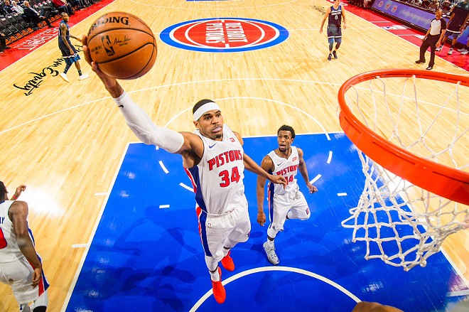 Why are athletes protesting before game time? For Pistons Coach Van Gundy, it's a slam dunk. - COURTESY DETROIT PISTONS