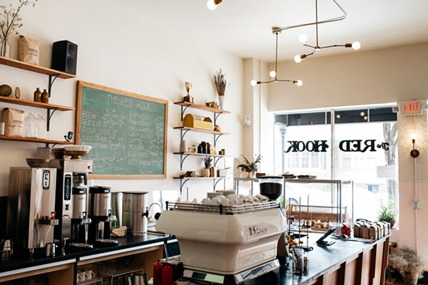 The interior of Red Hook's Agnes Street location. - COURTESY PHOTO