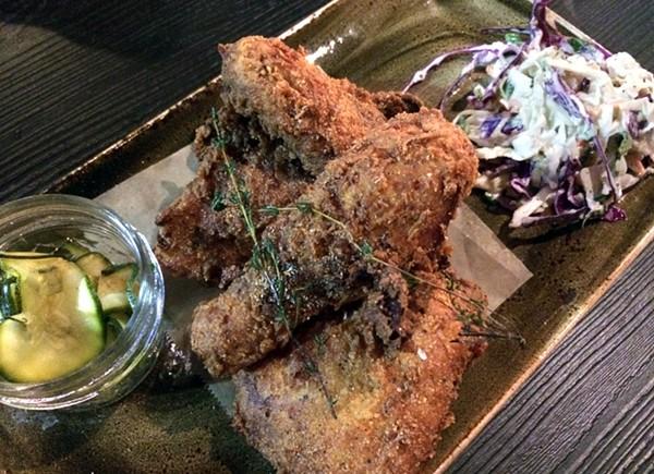 Fried chicken. - TOM PERKINS