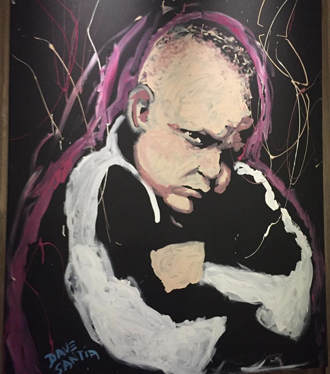 Joe C portrait at Made In Detroit - DANIEL DRESDEN
