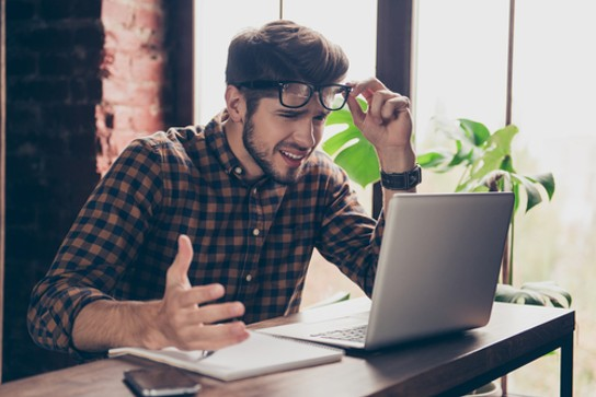 """""""Oh my god, this is horrible! Now I have to go to Snopes every time I read a news item I care about!"""" - PHOTO COURTESY SHUTTERSTOCK"""