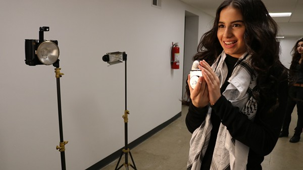 Fatima Abu-Omarah is a junior at Fordson High School. - PHOTO VIA ARAB AMERICAN NATIONAL MUSEUM