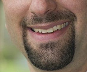 Detroit City Councilmember Gabe Leland's mouth, circa 2013.
