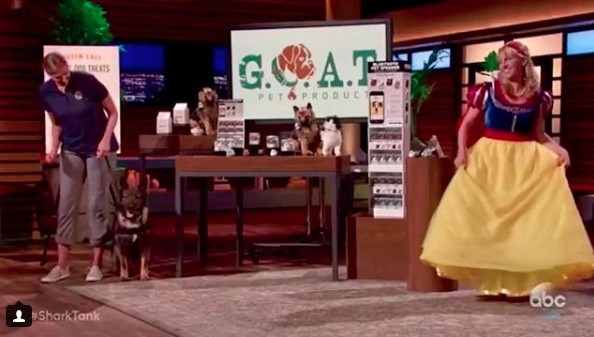 "The ""Shark Tank"" episode featuring G.O.A.T. Pet Products aired on Sunday, Jan. 14 on ABC. - PHOTO VIA INSTAGRAM, GOATPETPRODUCTS."