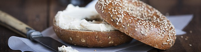 Bruegger's Bagels will offer three free bagels to customers everywhere on Thursday, Feb. 1. - COURTESY OF BRUEGGER'S BAGELS.