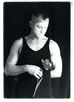 Portrait of the artist as a young mime (1990). - RICK BIELACZYC