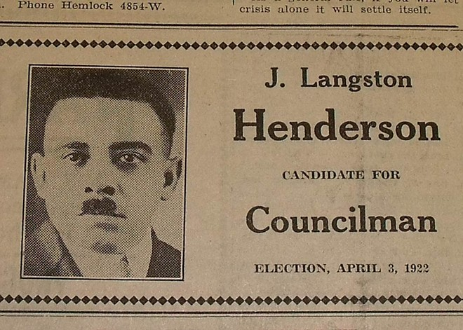 As soon as it incorporated as a city in 1922, Hamtramck had an African American, Dr. James Henderson, on its city council. - COLLECTION OF GREG KOWALSKI