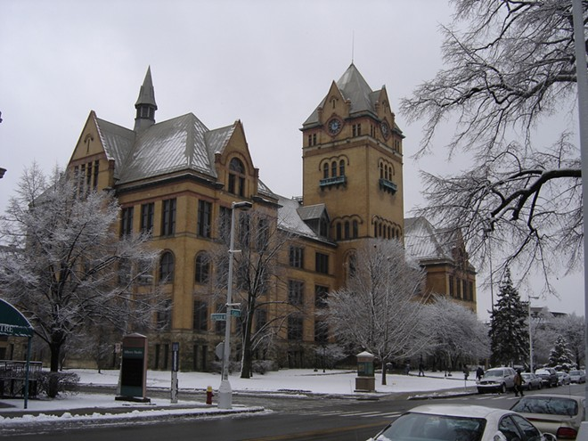 Old Main on Midtown's Wayne State University campus. - MT FILE PHOTO