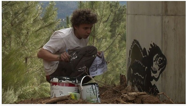 Bilal Berreni had traveled the world creating street art before he was murdered in Detroit in 2013. - COURTESY PHOTO