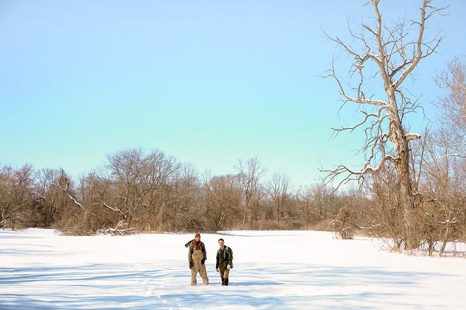 Scout Hollow at Detroit's Rouge Park. - NOAH ELLIOTT MORRISON