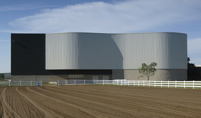 The MSU Pavilion for Agriculture and Livestock Education. - MICHIGAN STATE UNIVERSITY